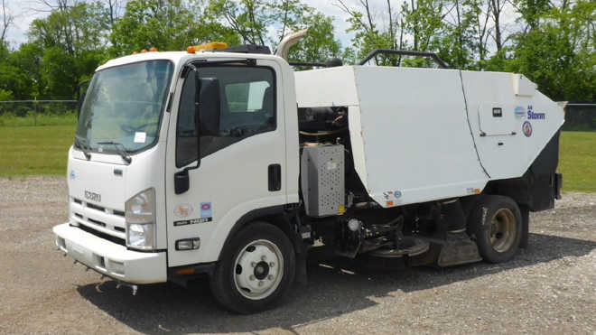 New and used street sweepers for sale
