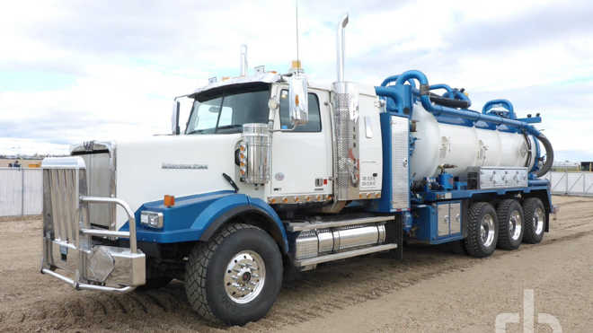New and used vacuum trucks for sale