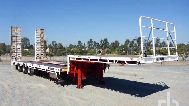 Step Deck Trailer >> New And Used Step Deck Trailers For Sale