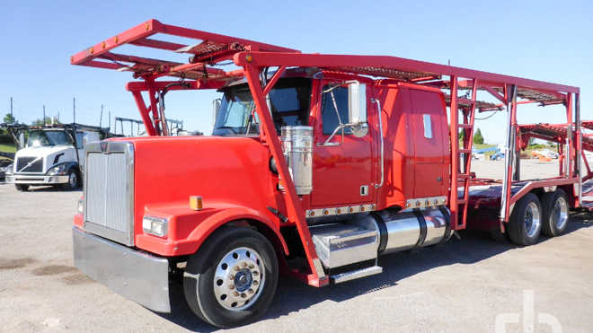 Car Hauler Trucks from top manufacturers available | Ritchie Bros