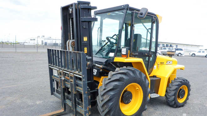 New and used rough terrain forklifts for sale