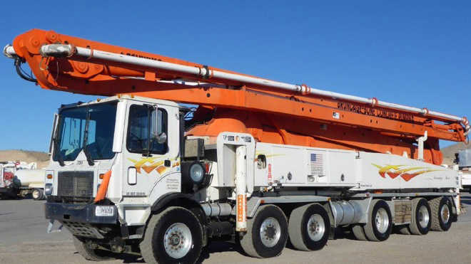 Trucks New used Concrete Bros for Pump saleRitchie and ulF1c3KTJ
