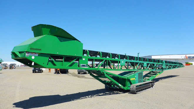 New and used stacking and stationary conveyors for sale
