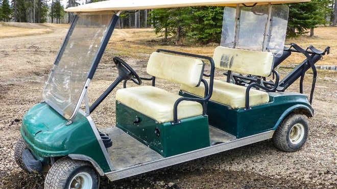 New and used golf carts for sale | Ritchie Bros