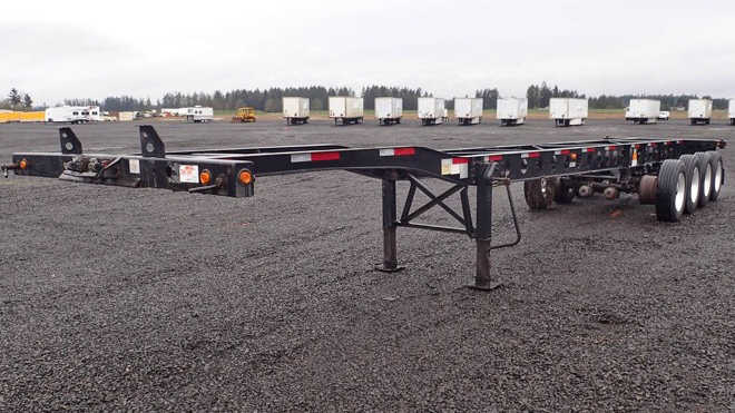Shipping Container Trailer >> New And Used Container Trailers For Sale Ritchie Bros