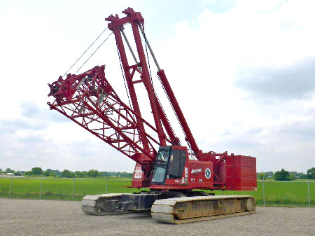 1999 Manitowoc 777 Epic Series II 200 Ton Self-Erecting crawler crane – St. Louis, MO