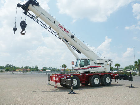 2006 Link-Belt RTC80100 100 Ton Rough Terrain Crane