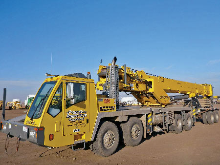 2011 Grove TMS800E 80 Ton 8x4x4 Hydraulic Truck Crane – Williston, ND