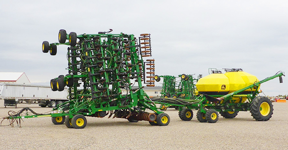 2009 John Deere 1835 61' air drill for sale at Ritchie Bros. Auctioneers