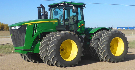 2013 John Deere 9510R 4WD tractor for sale at Ritchie Bros. Auctioneers
