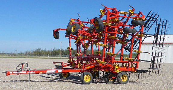 2014 Bourgalt 8910 60' cultivator for sale at Ritchie Bros. Auctioneers