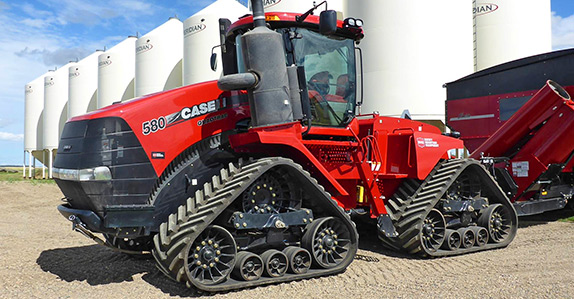 2015 Case IH Quadtrac Track Tractor for sale at Ritchie Bros. Auctioneers
