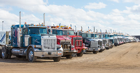 Used transport trucks for sale at Ritchie Bros.