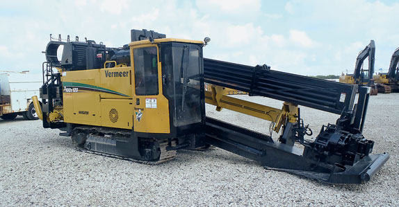 2008 Vermeer directional drill ready to be sold it Ritchie Bros. Columbus auction