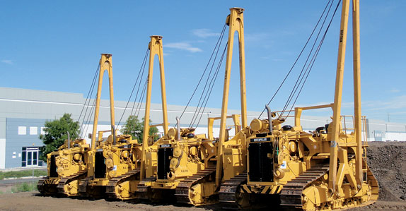 Caterpillar 72H are part of Columbus' massive pipeline and construction auction