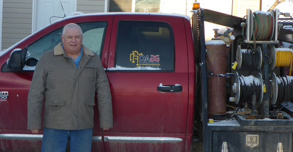 Glen Dagg of Dagg Construction Ltd. sold equipment through Ritchie Bros.