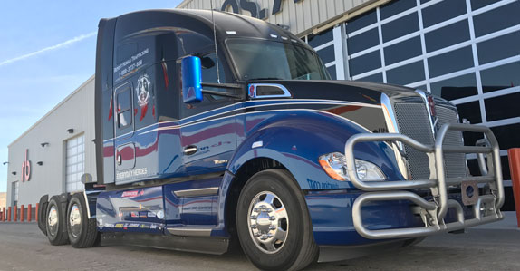 Kenworth Everyday Heroes truck to be auctioned for Truckers Against Trafficking
