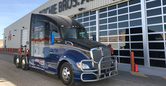 Is Ritchie Bros. rolling with the truck industry for a great cause? 10-4.