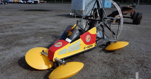 Seabow B2 powered parachute aircraft sold by Ritchie Bros.