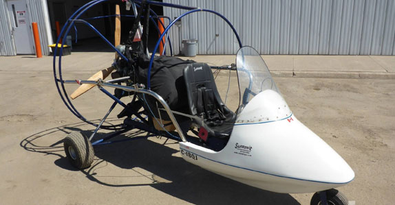 2003 Summit 2 powered parachute aircraft sold by Ritchie Bros.