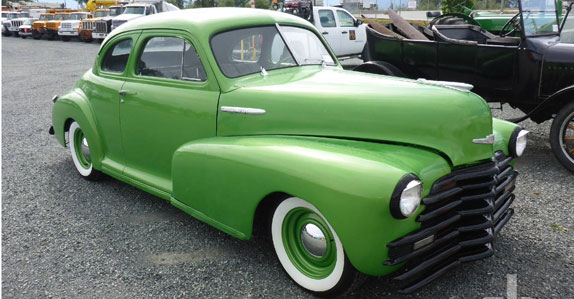 1946 Chevrolet Fleetmaster Coup sold at Ritchie Bros. auction
