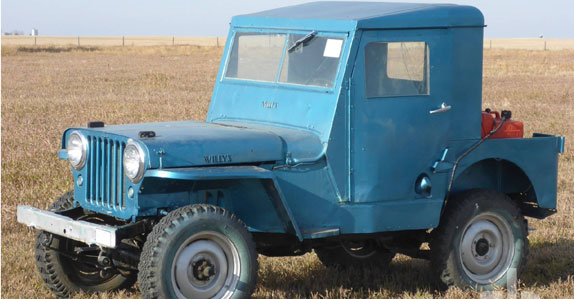 1946 Jeep Willys CJ sold at Ritchie Bros. auction