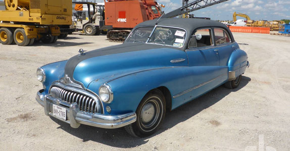 1947 Buick Roadmaster sedan sold at Ritchie Bros. auction