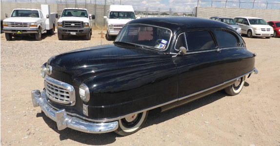 1949 Nash 600 coupe sold at Ritchie Bros. auction