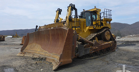 Yellow iron spotlight: big dozers with big price tags sold at