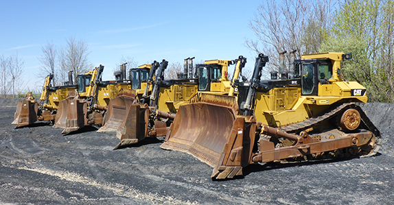 Yellow iron spotlight: big dozers with big price tags sold at Ritchie Bros.
