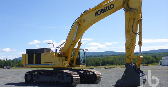 2009 Kobelco SK850LC hydraulic excavator sold in auction by Ritchie Bros.