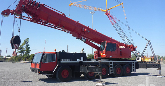 1999 Liebherr LTM1160/2 all terrain crane sold in auction by Ritchie Bros.