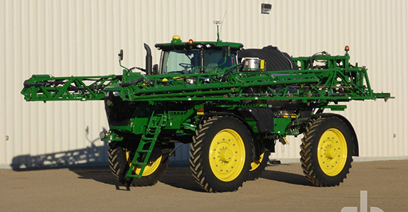 2016 John Deere R4045 sprayers.