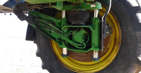 Sprayer sold at a Ritchie Bros. farm equipment auction