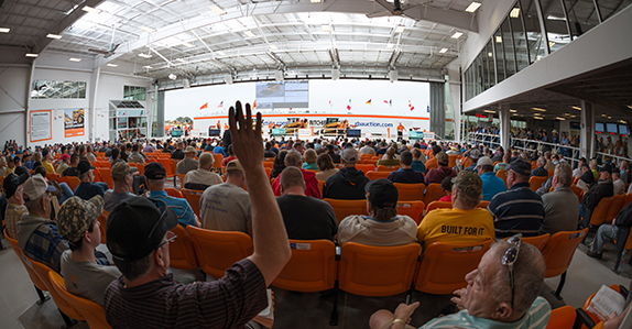 Bidders ready for action at Ritchie Bros. Orlando