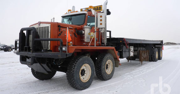 Kenworth C500 bed truck sold in April Ritchie Bros. auction