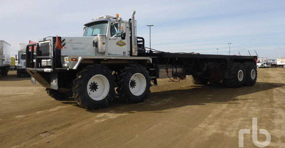 Western Star bed truck sold in April Ritchie Bros. auction