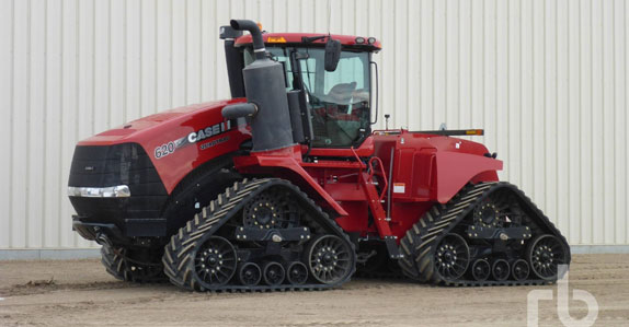 2017 CASE IH 620 quadtrac track tractor sold by Ritchie Bros. Auctioneers