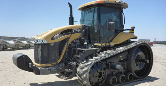 2012 challenger track tractor sold by Ritchie Bros. Auctioneers