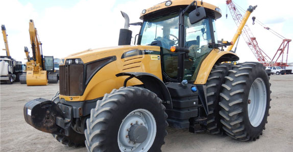 2013 challenger mfwd tractor sold by Ritchie Bros. Auctioneers