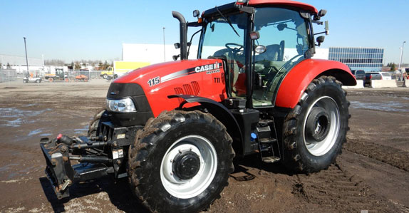 2015 case ih mfwd tractor sold by Ritchie Bros. Auctioneers