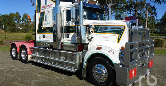 Kenworth truck tractor sold in May Ritchie Bros. auction