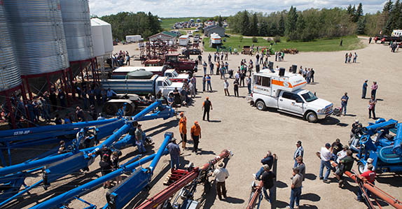 Ritchie Bros. farm equipment for sale at upcoming auctions