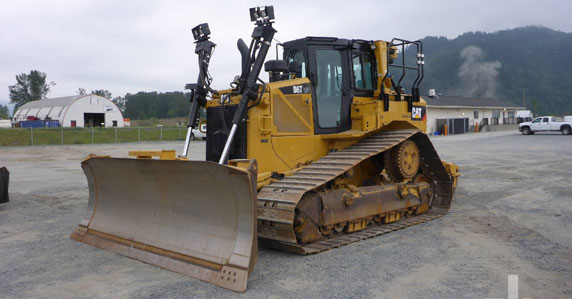 2015 Caterpillar D6T LGPVP crawler tractor sold by Ritchie Bros. Auctioneers