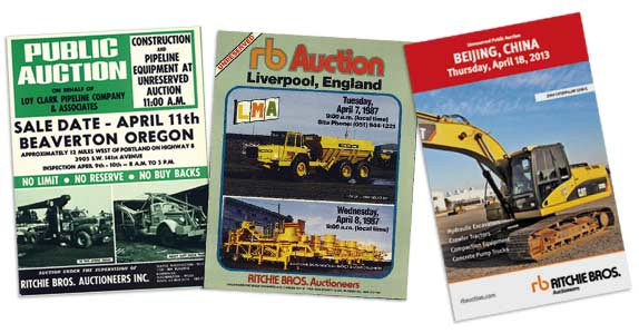 auction brochures