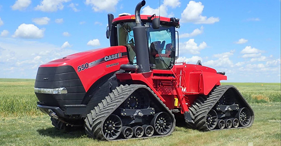 2013 Case IH 550 Quadtrac track tractor sold by Ritchie Bros. Auctioneers