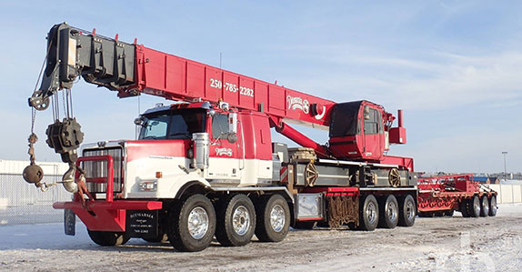 2013 Western Star 4900SA boom truck sold at Ritchie Bros. auction
