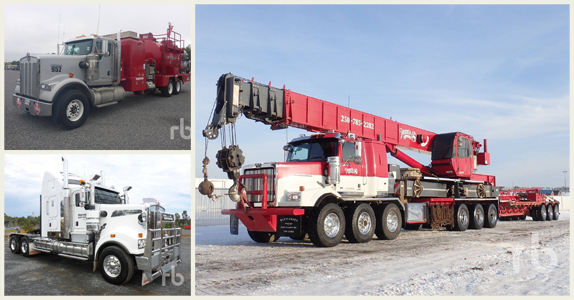 Trucks for sale at Ritchie Bros. truck, trailer, and transport equipment auctions.