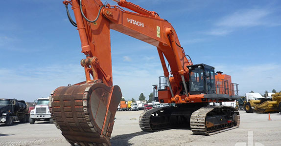2012 Hitachi EX1200-6 hydraulic excavator sold at a Ritchie Bros. heavy equipment and truck auction.