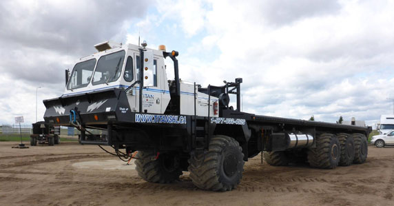 2007 Foremost Commander bed truck sold at a Ritchie Bros. auction